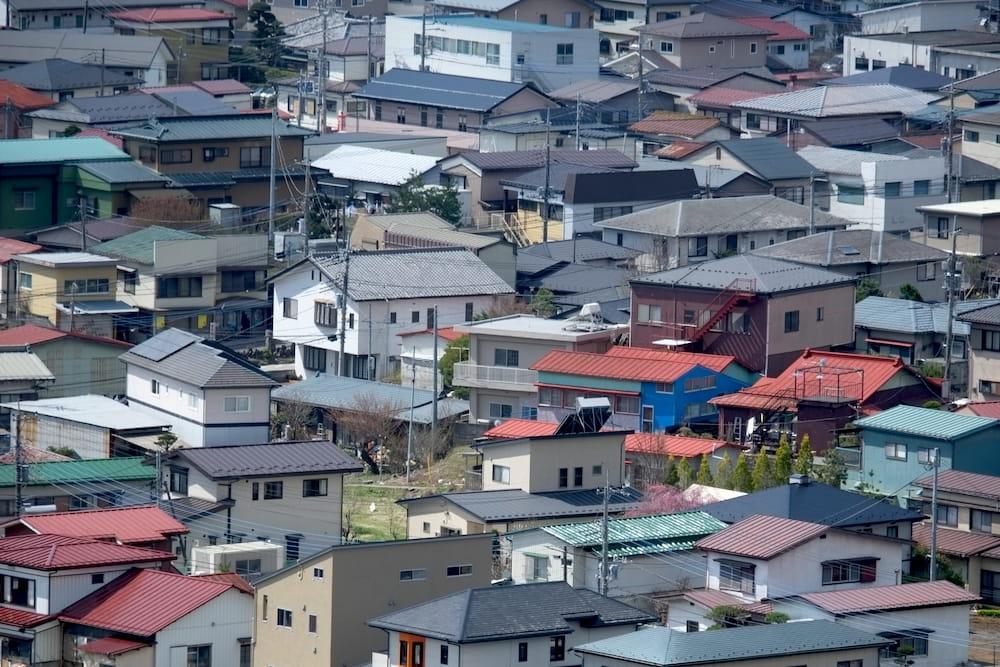 日本の狭小住宅事情