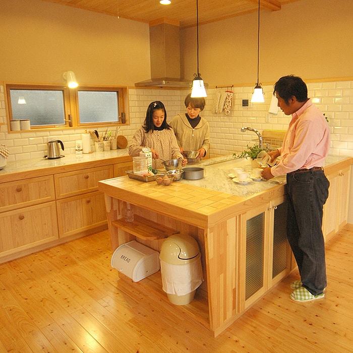 手作りカントリーキッチン